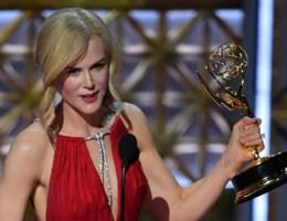 Nicole Kidman 'vergeet' twee kinderen tijdens haar Emmy-speech
