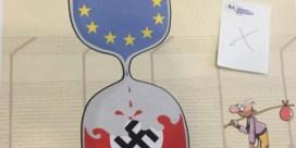 Radicaal-links klaagt 'censuur' cartoons aan
