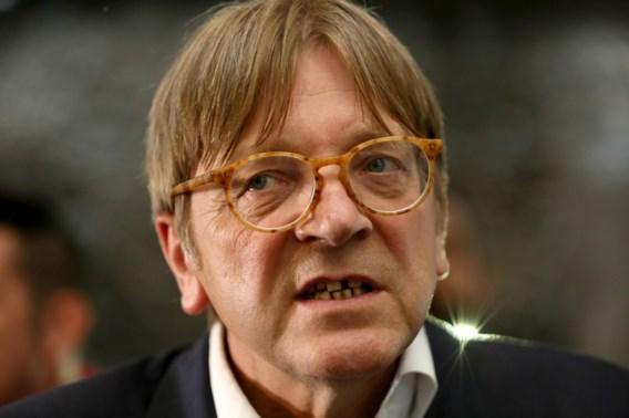 Verhofstadt: 'Britse positie lijkt meer realistisch te worden'