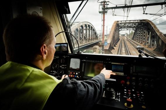 Zestig treinbestuurders in 2016 enkele dagen out na incident met spoorlopers