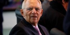 Zal Schäuble de AfD in de pas laten lopen?