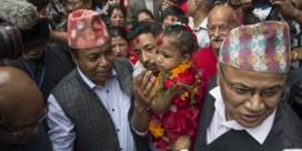 Driejarig meisje nieuwe 'levende godin' in Nepal