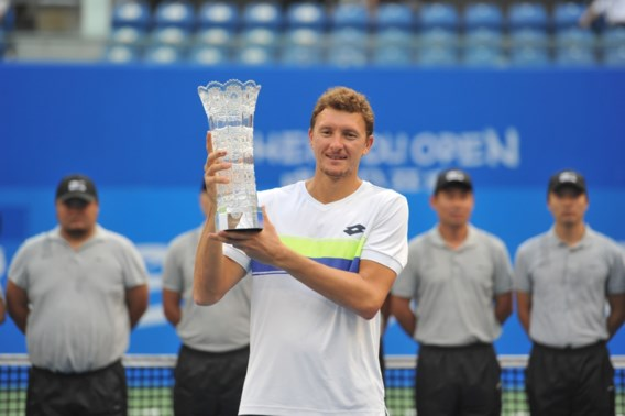 Oezbeek Denis Istomin pakt tweede titel na opgave van tegenstander in ATP Chengdu