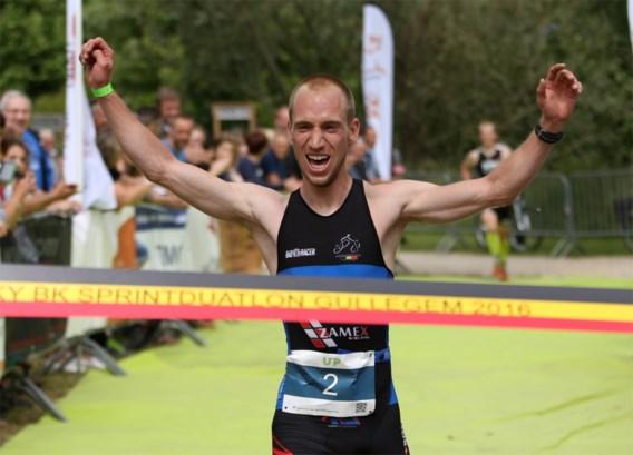 Vincent Bierinckx en Ilse Geldhof veroveren Belgische titels op korte afstand op BK duatlon