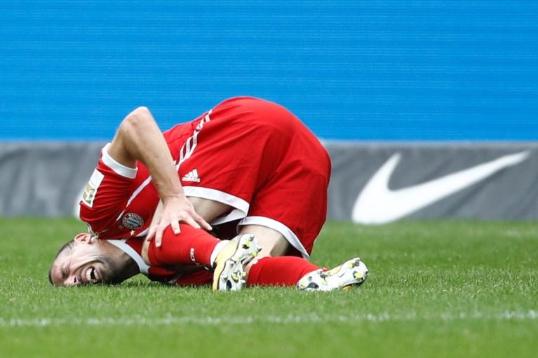 Ontslag Ancelotti haalt niets uit: Bayern blijft in hetzelfde bedje ziek en speelt gelijk, zware blessure voor Ribéry?