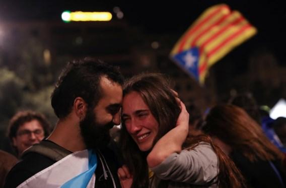Overgrote meerderheid stembusgangers stemt voor onafhankelijkheid