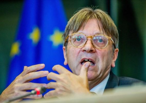Guy Verhofstadt: 'Ik veroordeel wat in Catalonië gebeurt'