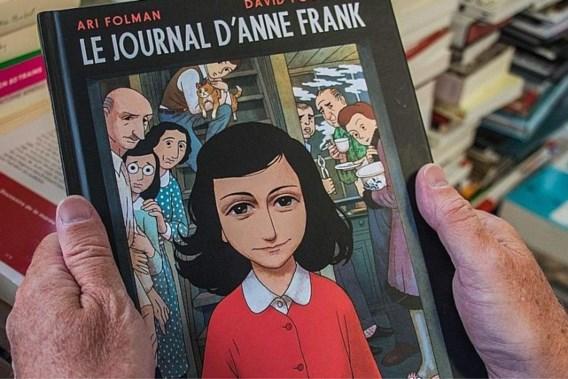 Dagboek Anne Frank wordt graphic novel