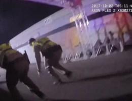 Eerste bodycambeelden van agent bij schietpartij Las Vegas vrijgegeven