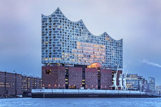 Hamburgse Elbphilharmonie wordt decor van een catwalkshow