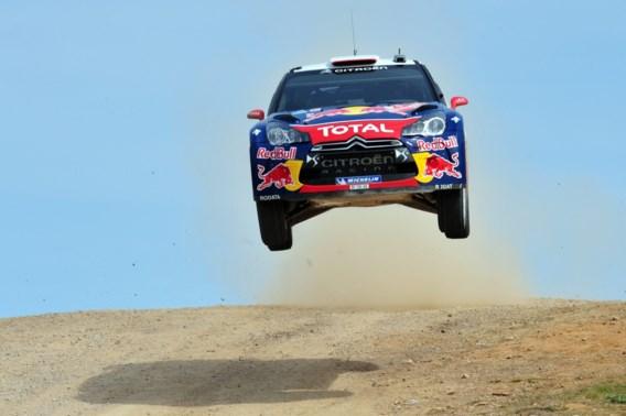 Sébastien Loeb leider in Rally van Marokko na ritwinst