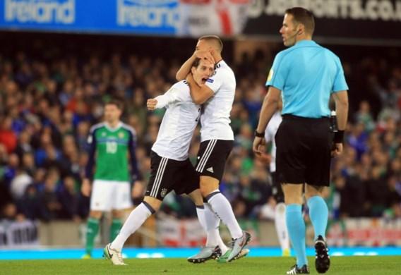 Duitsland geplaatst voor WK na deze wereldgoal, ook Engeland mag naar Rusland na late winning goal