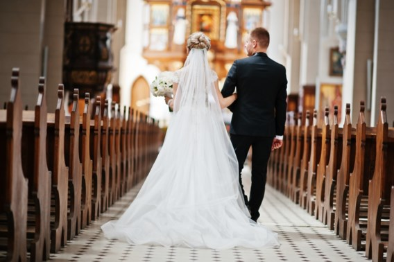 Het aantal kerkelijke huwelijken in Holsbeek kan niet meer dalen