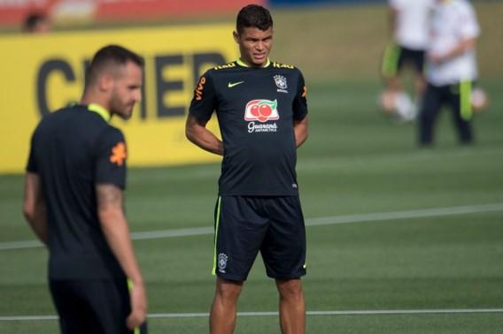 Brazilië moet Thiago Silva missen tegen Chili