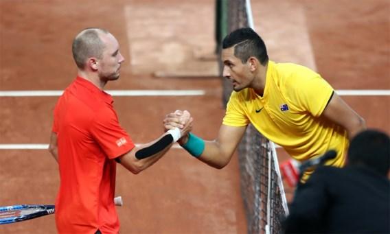 Darcis geeft op tegen Kyrgios op ATP-toernooi Peking