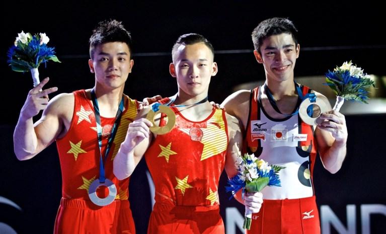 Chinees Ruoteng pakt wereldtitel allround op WK turnen