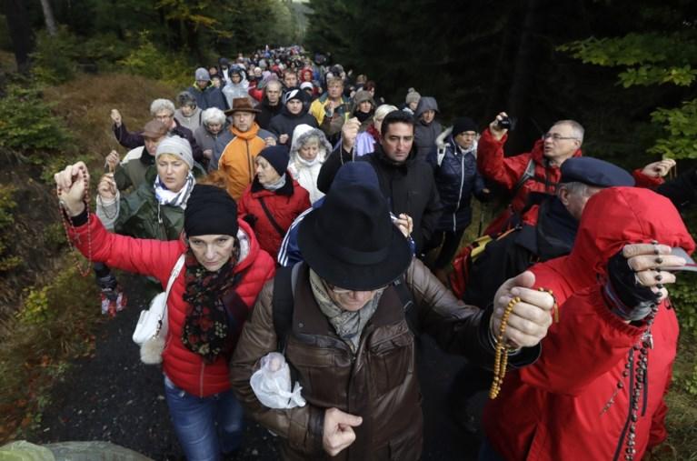 Polen organiseren massagebed tegen 'islamisering van Europa'