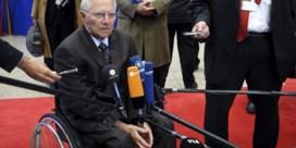 Schäuble waarschuwt voor nieuwe zeepbellen