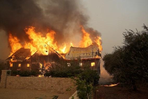 Zeker tien doden bij natuurbranden in Californië