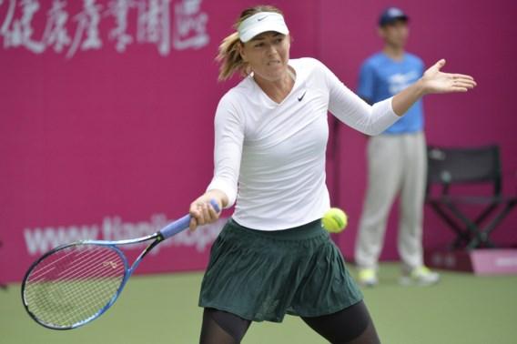 Maria Sharapova krijgt wildcard voor WTA Moskou