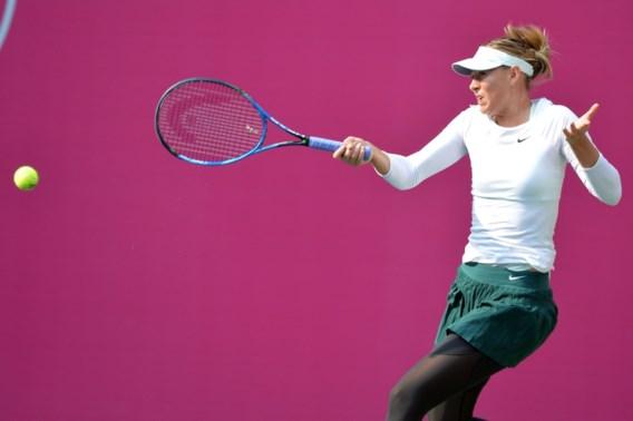 Maria Sharapova blijf na wildcard vlot winnen in China