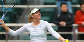 Maria Sharapova plaatst zich voor eerste WTA-finale sinds terugkeer