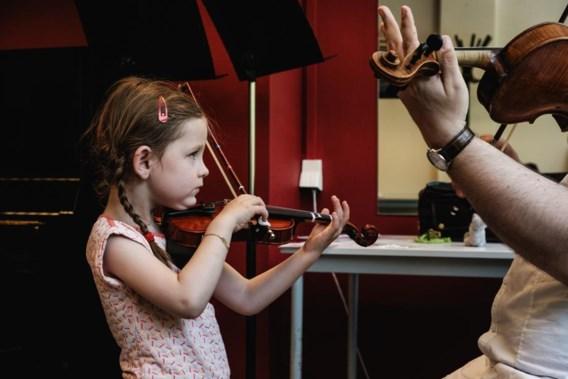 Muziekscholen komen tot in de klas