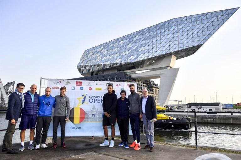 Goffin & Darcis winnen eerste duel tegen Fransen… op waterfiets