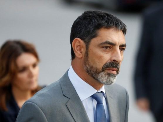 Catalaanse politiechef vrijgelaten onder voorwaarden