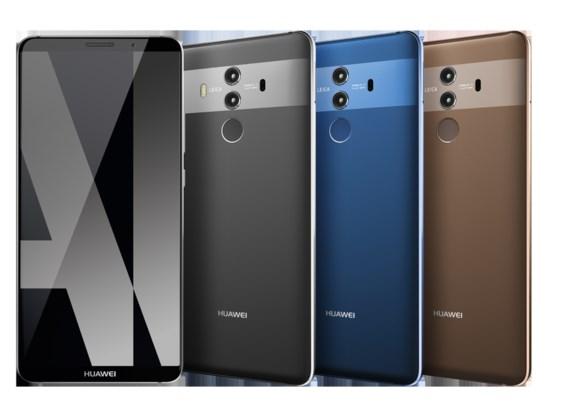 Nieuwste smartphone Huawei kan 'zien, denken en leren zoals een mens'