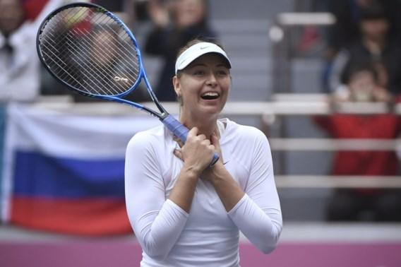 Maria Sharapova stijgt naar 57e plaats op WTA-ranking, Elise Mertens blijft 38e