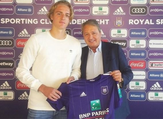 Landskampioen Anderlecht bindt 18-jarige belofte langer aan club
