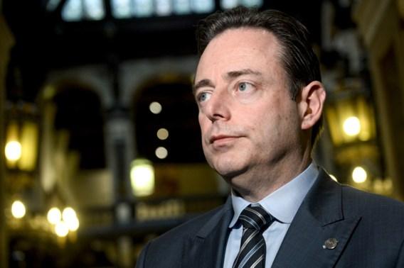 De Wever: 'Iedereen tegen mij? Ik ben daar niet rouwig om'