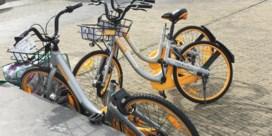 Brussel heeft last van rondslingerende fietsen
