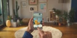 Thuis IKEA-meubels uitzoeken met augmented reality