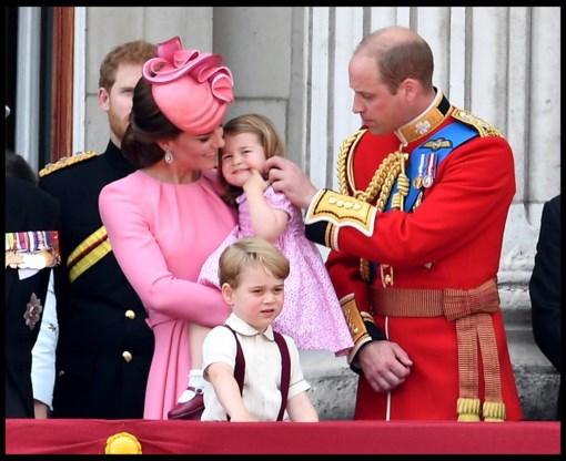 Kate Middleton bevalt in april van derde kindje