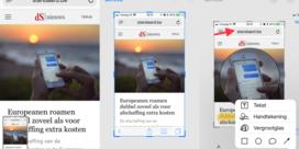 Makkelijker screenshots maken (en bewerken) in iOS 11