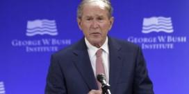 Bush neemt beleid van Trump op de korrel