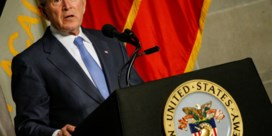 Bush en Obama noemen Trump niet bij naam in hun speech