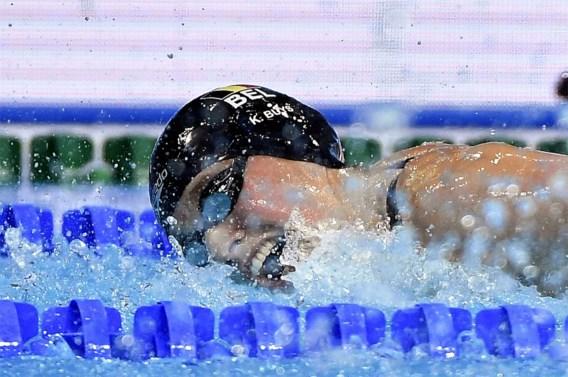 Kimberly Buys wint 50 en 100 meter vlinderslag op zwemmeeting in Saint-Dizier