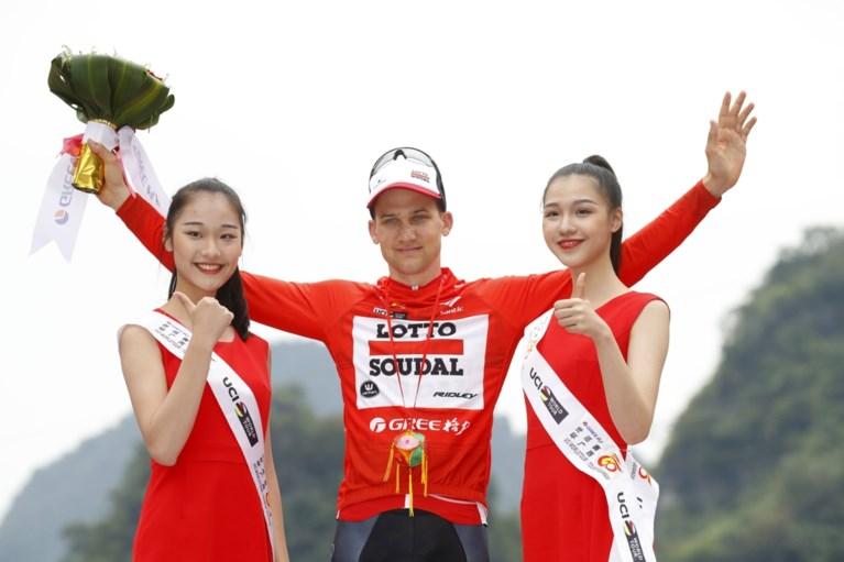 Tim Wellens grijpt de macht in koninginnenrit in Ronde van Guangxi