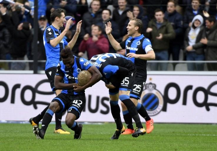 Club Brugge steviger op kop na moeilijke thuiszege tegen Antwerp