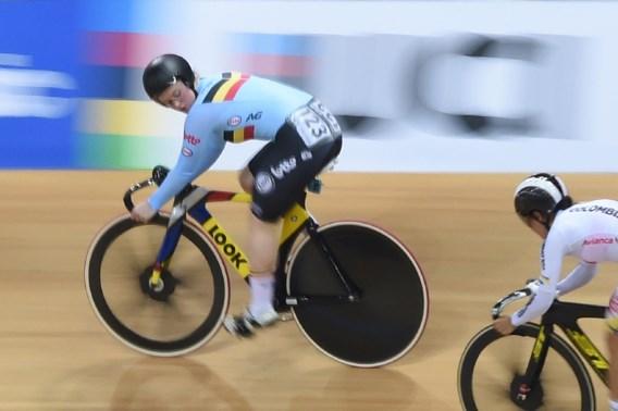 Nicky Degrendele uitgeschakeld in sprint door wereldkampioene, ook Ayrton De Pauw out