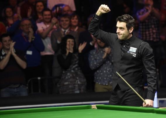 """Ronnie """"The Rocket"""" O'Sullivan doet zijn bijnaam weer alle eer aan op English Open snooker"""