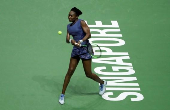 Karolina Pliskova droogt Venus Williams af op WTA Masters