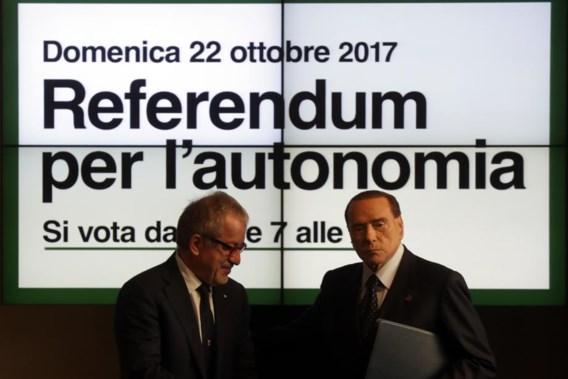 Welvarende Italiaanse regio's stemmen over meer autonomie