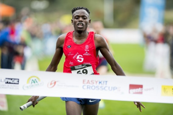 Isaac Kimeli en co winnen opener CrossCup in Gent
