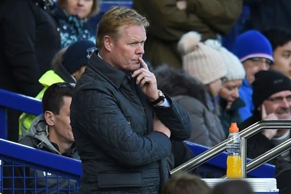 Everton zet trainer Koeman aan de deur