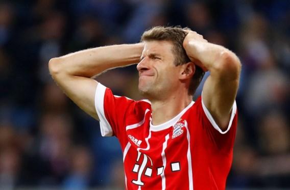 Bayern München moet Thomas Müller missen in enkele belangrijke wedstrijden
