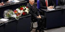 Bundestag kiest Wolfgang Schäuble tot voorzitter